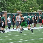Eli Myers '19 DE at Michigan State Elite Football Camp 2017